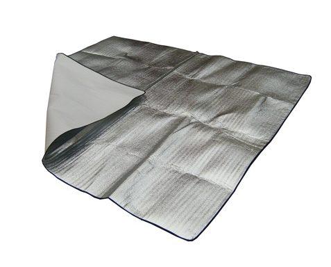 Aluminum Folyo Kaplı Cam Elyaf Kumaş